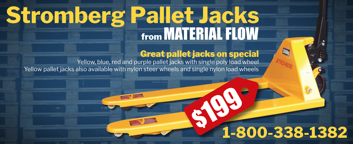 Material Flow 199 Pallet Jack Special
