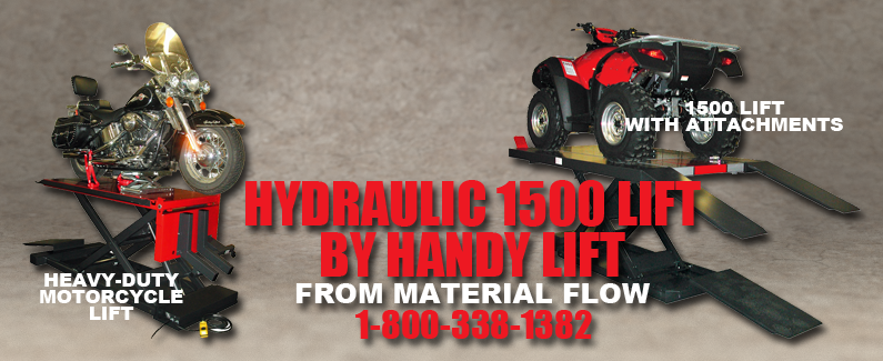 Handy Hydraulic 1500 Lifts from Material Flow