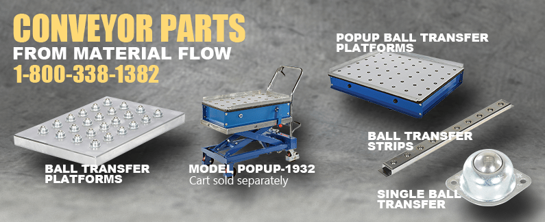 Conveyor parts from Material Flow