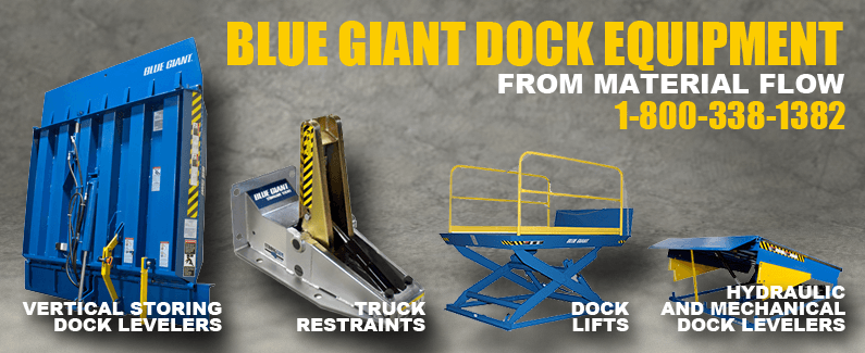 Blue Giant dock equipment from Material Flow