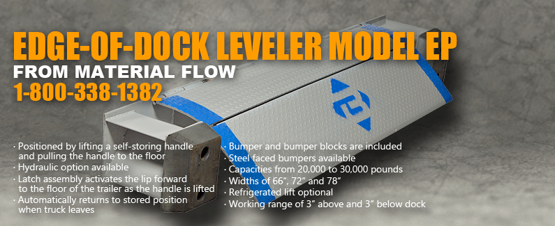 Edge-of-Dock Leveler Model EP from Material Flow