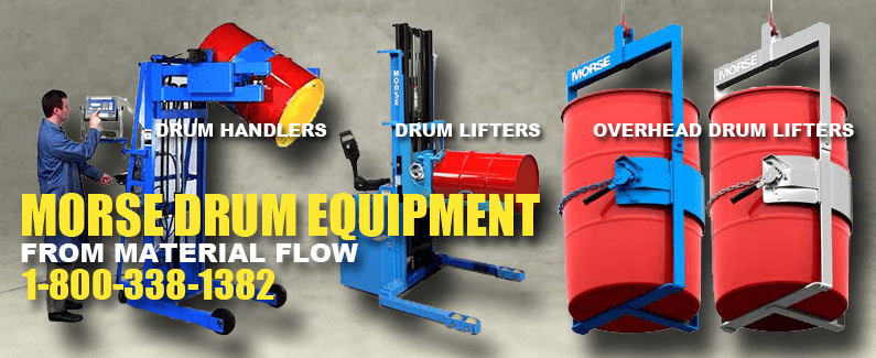 Morse drum equipment from Material Flow