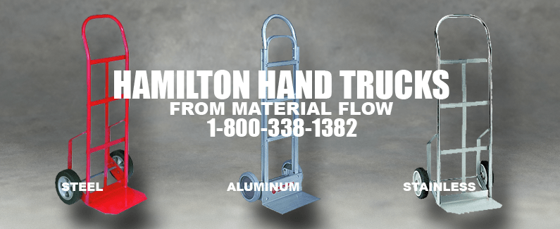 Hamilton hand trucks from Material Flow