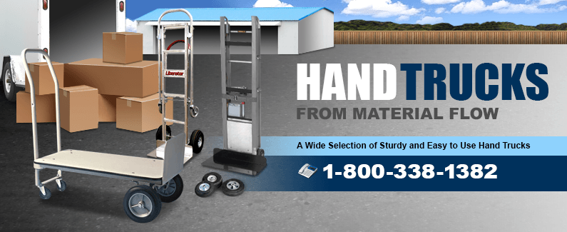 Hand trucks from Material Flow