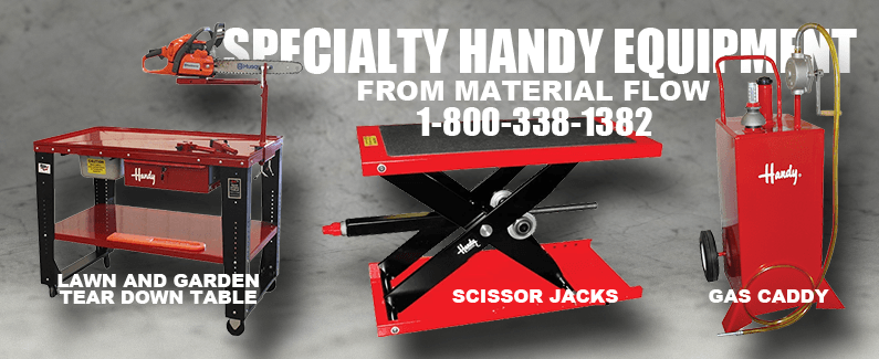Specialty Handy equipment from Material Flow
