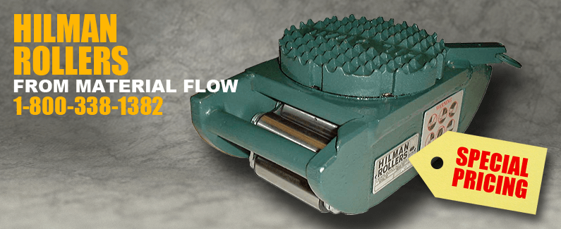 Hilman rollers from Material Flow