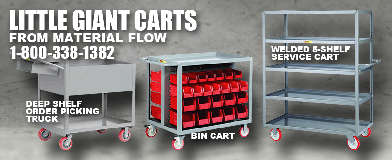 Little Giant carts from Material Flow
