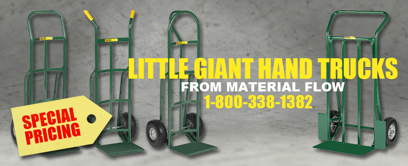 Little Giant hand trucks from Material Flow