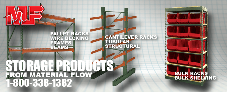 Storage products from Material Flow