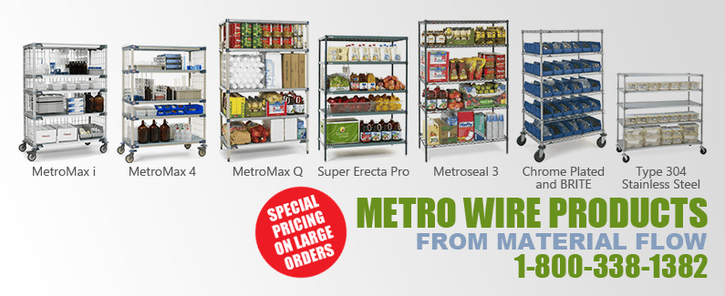 Metro wire products from Material Flow