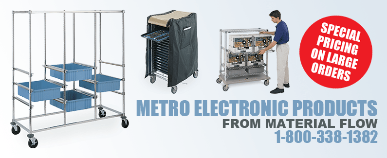 Metro electronic products from Material Flow