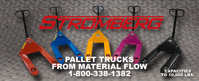 Stromberg pallet trucks from Material Flow