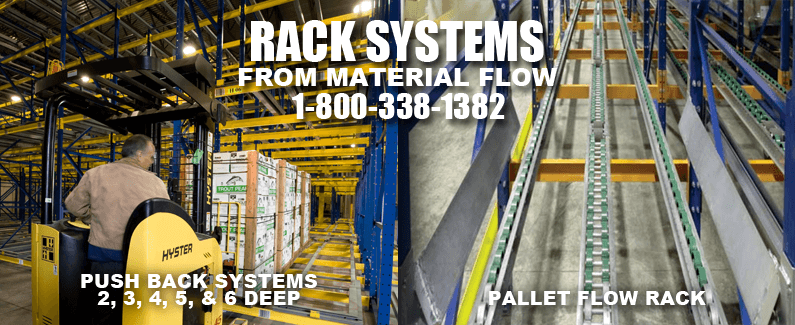 Rack systems from Material Flow