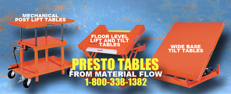 Presto tables from Material Flow