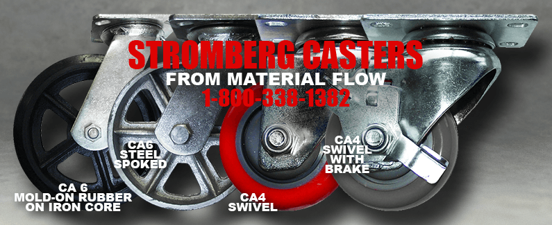 Stromberg casters from Material Flow