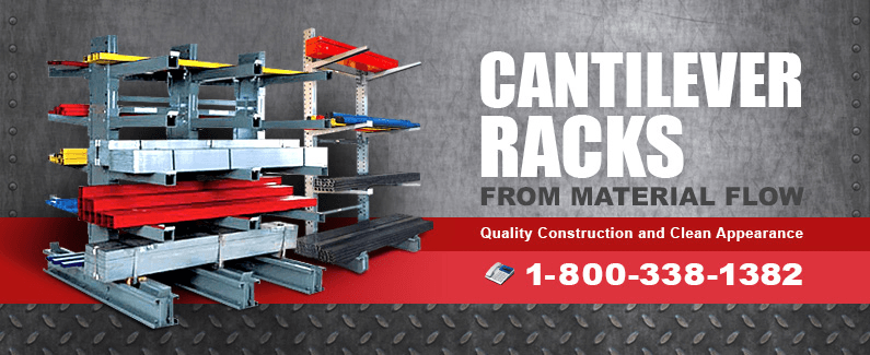 Cantilever racks from Material Flow