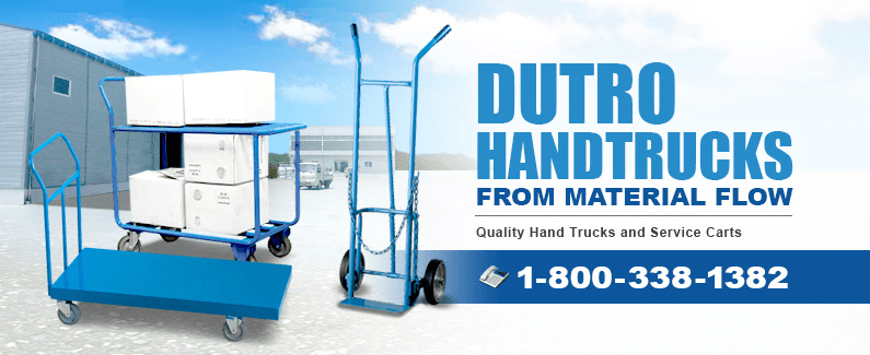 Dutro hand trucks from Material Flow