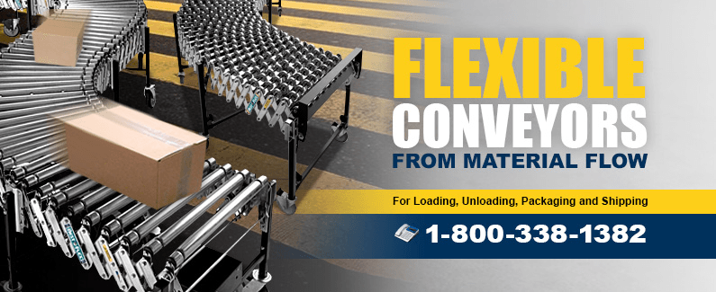 Flexible conveyors from Material Flow