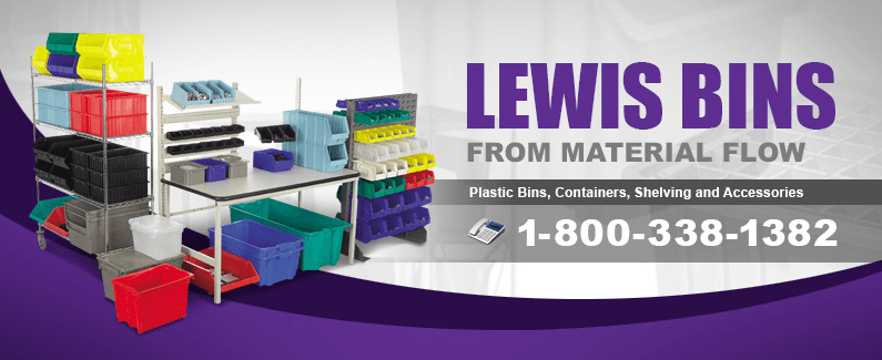 Lewis Bins from Material Flow