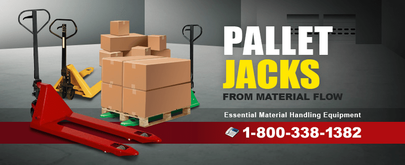 Pallet jacks from Material Flow