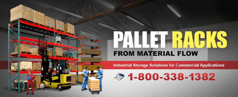 Pallet racks from Material Flow